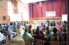 Aids Day 2017 Interaction with Mr. Suresh on 04-12-17