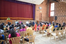Interaction with Vimala College Students on 23-11-17