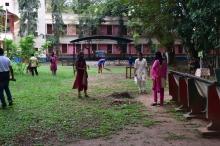 Kerala Piravi 2017 Campus Cleaning